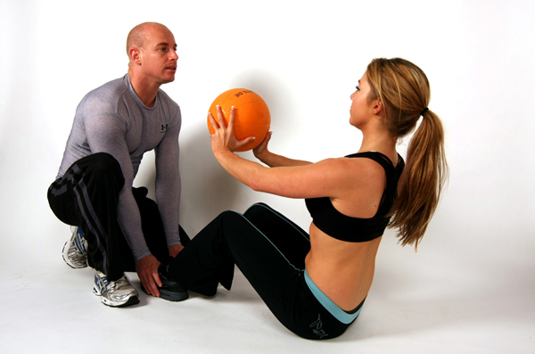 Personal trainer fotoshoot